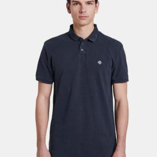 Tom Tailor Denim tmavě modré pánské polo tričko