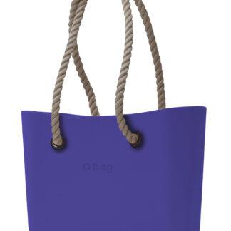 O bag kabelka Iris s provazovými držadly natural