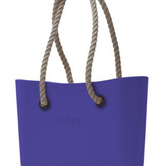 O bag kabelka Iris s dlouhými provazy natural