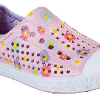 Skechers růžové dívčí boty Guzman Steps