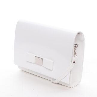 Luxusní dámské psaníčko bílé matné - Delami Chicago Fresno bílá