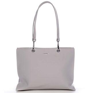 Dámská kabelka přes rameno krémově bílá - David Jones Palma krémová