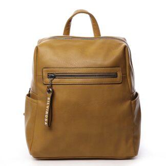 Dámský batoh žlutý - Silvia Rosa Lesgo žlutá