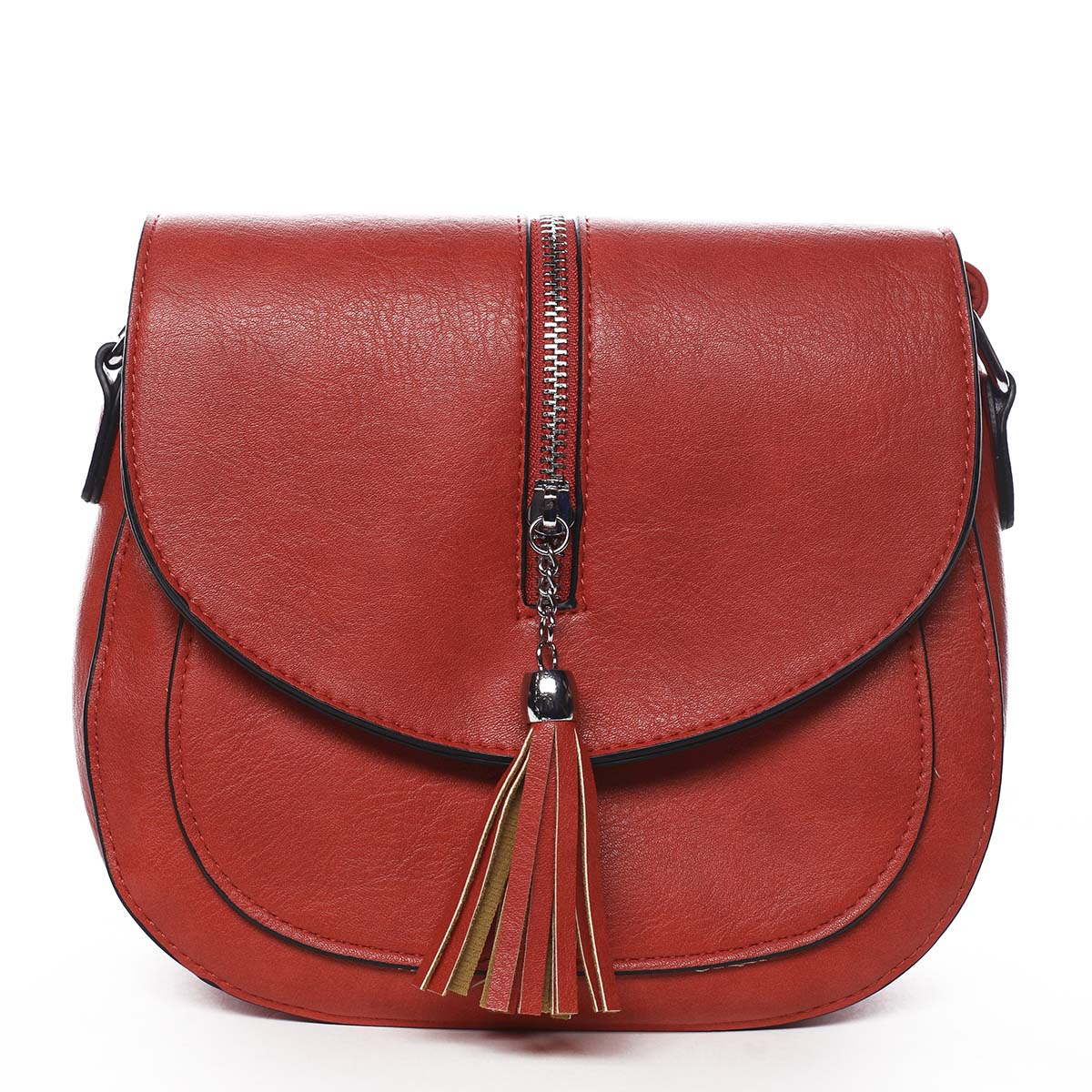 Dámská crossbody kabelka červená - Romina Intelions červená