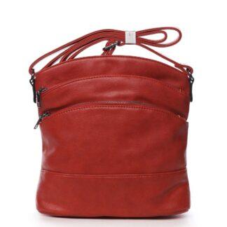 Dámská crossbody kabelka červená - Romina Eufanity červená