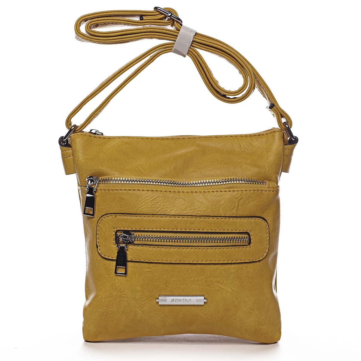 Dámská crossbody kabelka žlutá - Romina Chasing žlutá