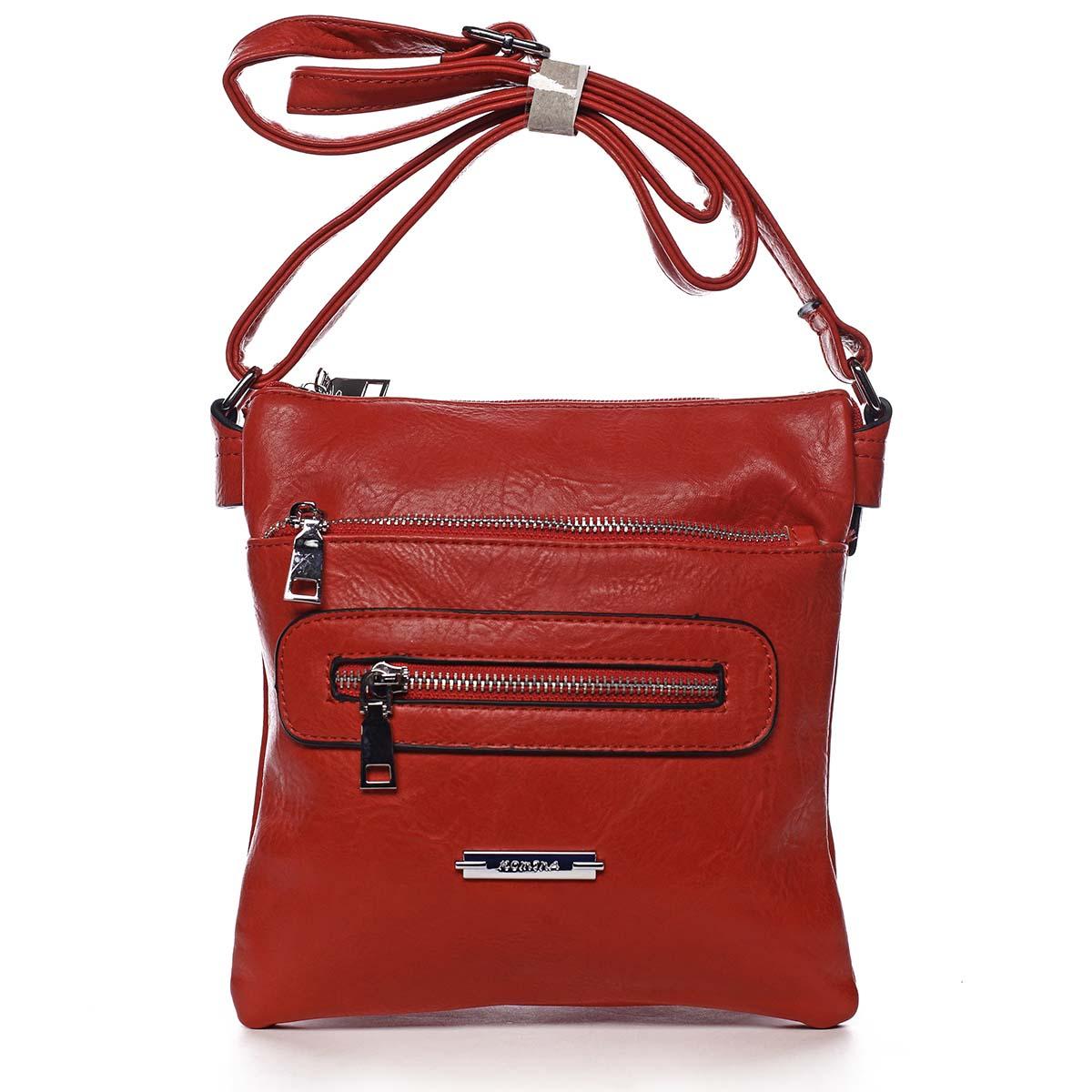 Dámská crossbody kabelka červená - Romina Chasing červená