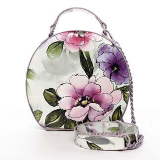 Dámská kabelka fialová - DIANA & CO Liliána fialová