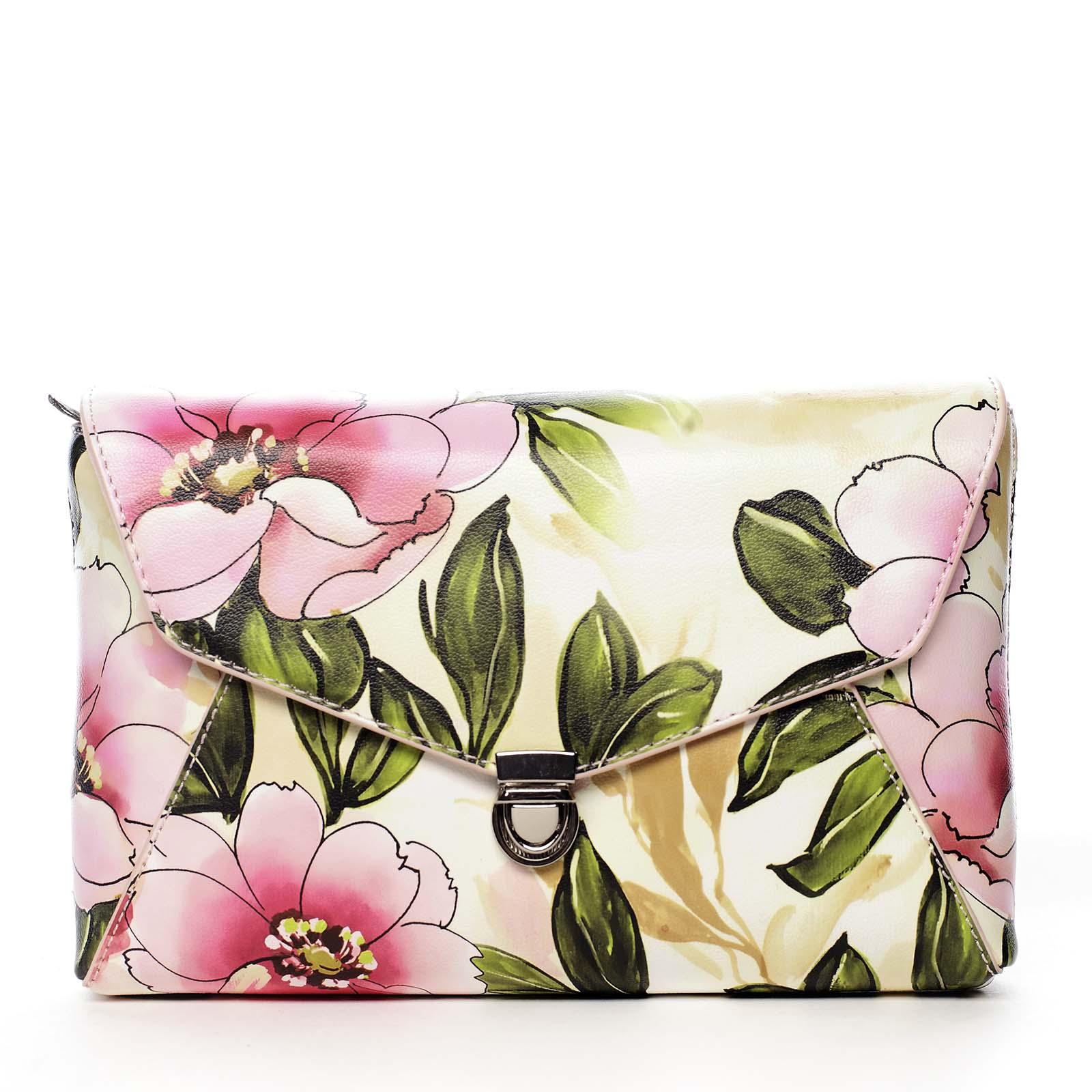 Dámská crossbody kabelka růžová - DIANA & CO Rozária růžová