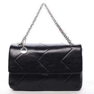 Dámská kabelka přes rameno černá - DIANA & CO Threethre černá