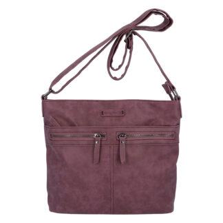 Dámská crossbody kabelka tmavě fialová - Enrico Benetii Nymea fialová