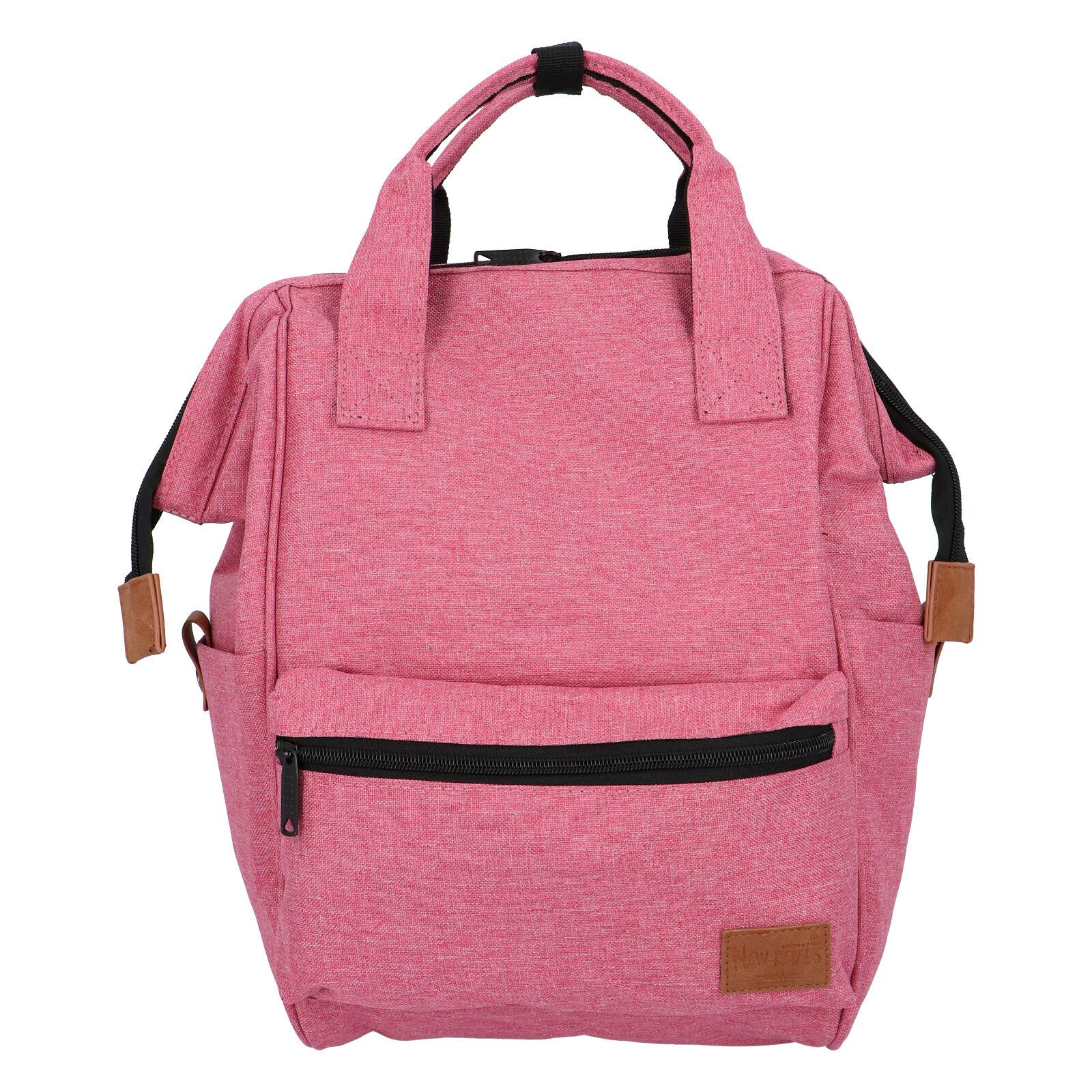 Látkový batoh růžový - New Rebels Cody růžová