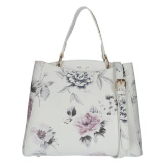 Dámská kabelka přes rameno bílá - DIANA & CO Florentina bílá