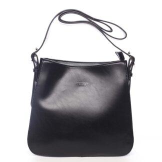 Dámská kabelka přes rameno černá - DIANA & CO Jiansis černá