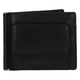 Pánská kožená dolarovka černá - SendiDesign Rtex Dark černá