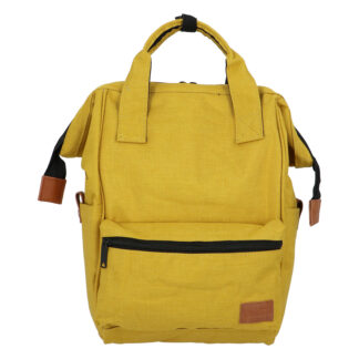 Látkový batoh žlutý - New Rebels Cody žlutá