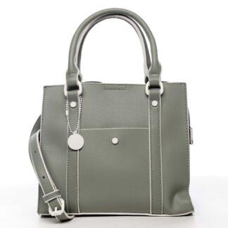 Dámská kabelka bledě zelená - DIANA & CO Cerendia zelená