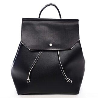 Dámský městský batoh černý - DIANA & CO Cerendinok černá