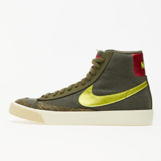 Nike Wmns Blazer Mid '77 Medium Olive/ Lemon Venom-Fossil CZ0462-200