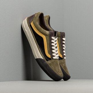 Vans Old Skool VLT LX (Suede/Leather) Shale/ Stone Gray VN0A4BVFVYM1