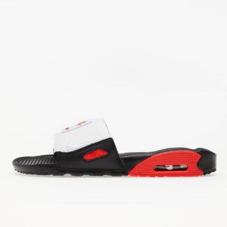 Nike Air Max 90 Slide Black/ White-Chile Red BQ4635-003