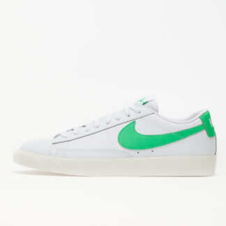 Nike Blazer Low Leather White/ Green Spark-Sail CI6377-105