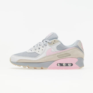 Nike Air Max 90 Vast Grey/ Pink-Wolf Grey-String CW7483-001