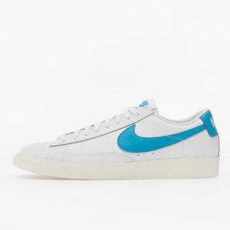 Nike Blazer Low Leather White/ Laser Blue-Sail CI6377-104