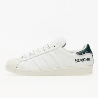 adidas x Jonah Hill Superstar Core White/ Green Night F17/ Off White FW7577