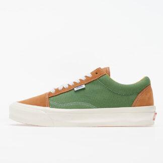 Vans Old Skool NS OG LX (Suede/ Canvas) Brown/ Green VN0A4UUT20X1