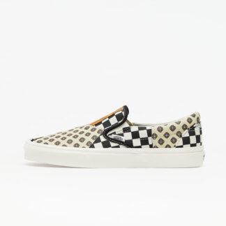 Vans Classic Slip-On (Tiger Patchwork) Black/ True White VN0A4U381IO1