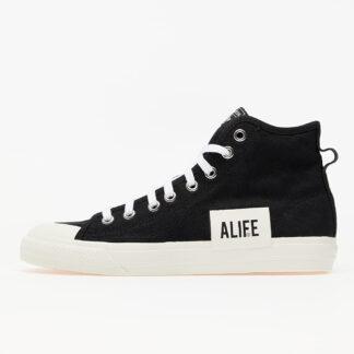 adidas Consortium x ALIFE Nizza Hi Core Black/ Off White/ Off White FX2623