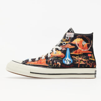 Converse Chuck Twisted Resort 70 Hi Black/ Multi/ Egret 167761C