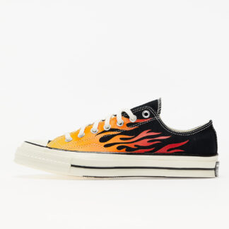 Converse Chuck 70 OX Black/ Enamel Red 167813C