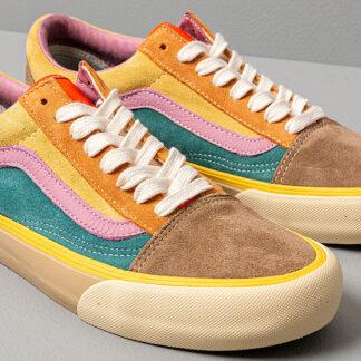 Vans Old Skool VLT LX (Suede/ Leather) Multicolor VN0A4BVFVYL1