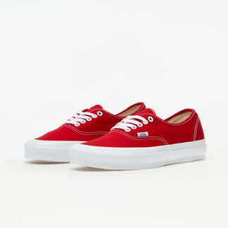 Vans OG Authentic LX (Canvas) Red/  True White VN0A4BV905D1