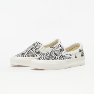 Vans OG Classic Slip-On (Canvas) Optical Checkerboard/ Marshmallow VN0A45JK1Z31