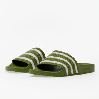 adidas Adilette Foreign Green/ Supplier Colour/ Foreign Green FU9891