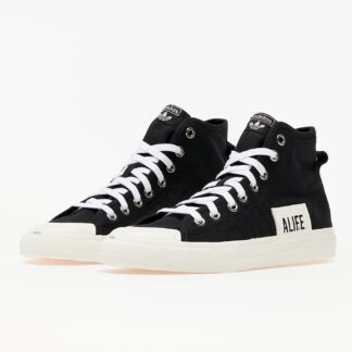 adidas x ALIFE Nizza Hi Core Black/ Off White/ Off White FX2623