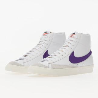 Nike Blazer Mid '77  Vintage White/ Voltage Purple-Sail BQ6806-105
