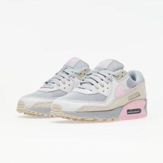 Nike Air Max 90 Vast Grey/ Pink-Wolf Grey-String CW7483-001