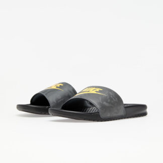 Nike Benassi JDI Black/ Laser Orange-Iron Grey 343880-031