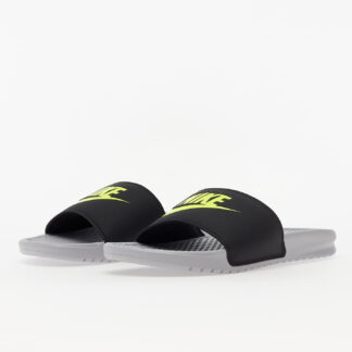Nike Benassi JDI Wolf Grey/ Volt-Black 343880-027