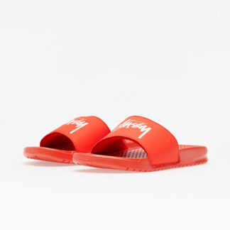 Nike x Stüssy Benassi Habanero Red/ White CW2787-600