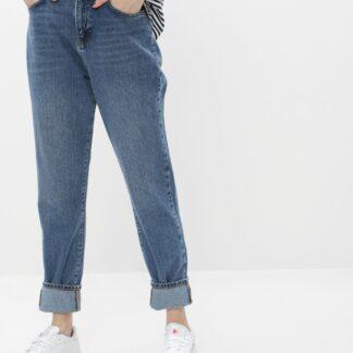 Modré mom fit džíny Noisy May Isabel