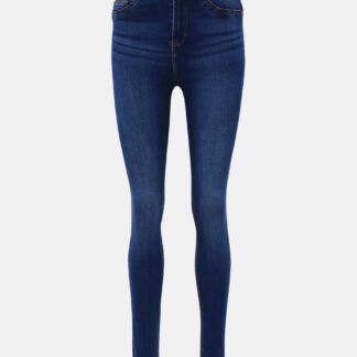 Modré skinny fit džíny Noisy May Callie