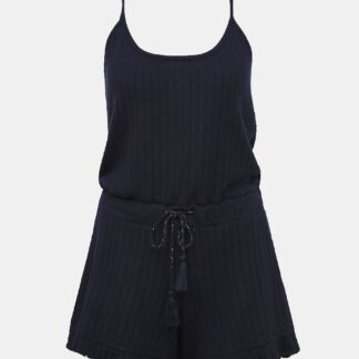 Tmavě modrý pyžamový overal Dorothy Perkins