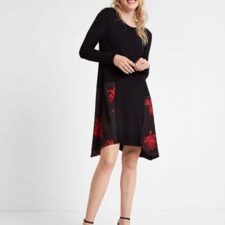 Desigual černé šaty Vest Siroua