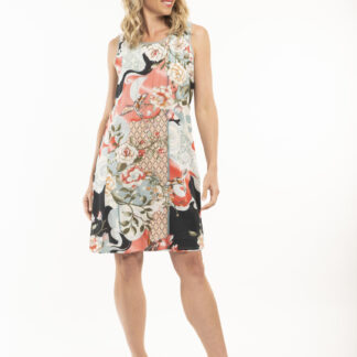 Orientique šaty Hydra s barevnými motivy