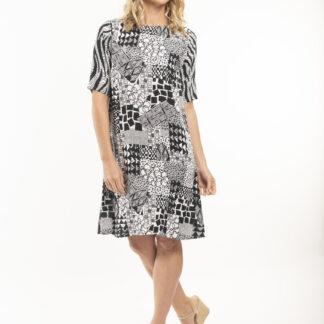 Orientique vzorované šaty Gythio